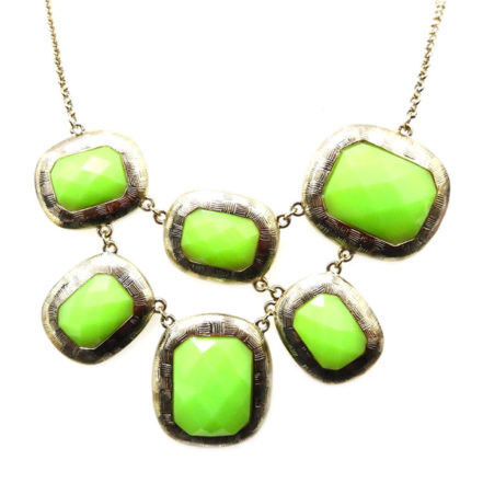 Maxi Colar Verde Neon