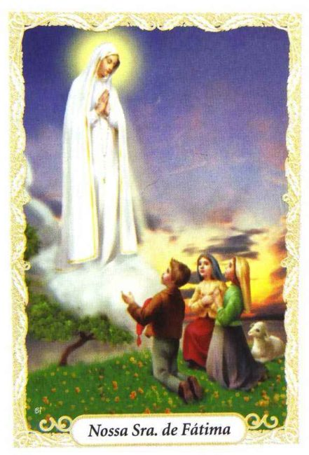 Escapulário Nossa Senhora de Fátima