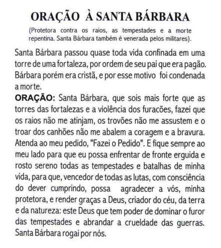 Escapulário Santa Bárbara