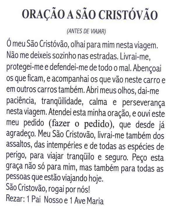 Escapulário São Cristóvão