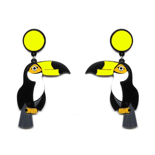 Brinco Tucano Amarelo