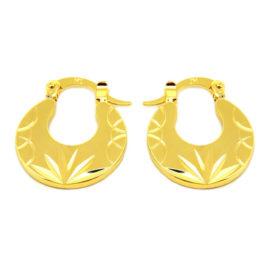 Brinco Argolinha Dourada