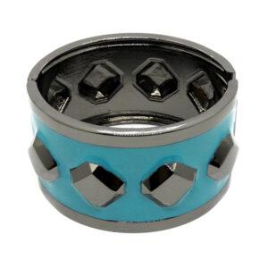 Bracelete Grafite e Azul