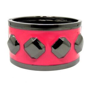 Bracelete Grafite e Pink